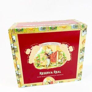 Romeo Y Julieta Reservation Real Cigar Box
